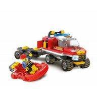 Blocki - Set cuburi constructie Garda pompier, 120 piese,