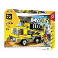 Blocki - Set cuburi constructie MyCity Betoniera, 217 piese,