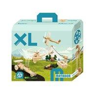 Matador - Set cuburi de constructie din lemn Explorer XL, +5 ani,