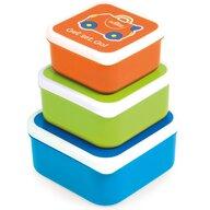 Trunki - Set recipiente Snack Pots, Albastru
