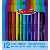 Set de 12 markere triunghiulare Melissa and Doug
