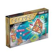 Geomag - Set de constructie magnetic Glitter, 68 piese
