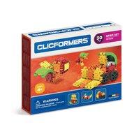 Clicstoys - Set de constructie Multifunctional Basic , Clicformers , 30 piese