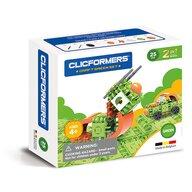 Clicstoys - Set de constructie Multifunctional Craft , Clicformers , 25 piese, Verde