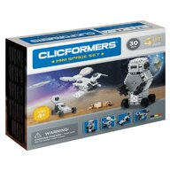 Clicstoys - Set de constructie Multifunctional Mini Spatiu , Clicformers , 30 piese