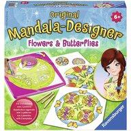 Ravensburger - Set creativ Mandala Flori si fluturi