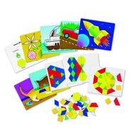 Learning Resources - Set de forme magnetice pentru construit modele