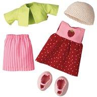 Haba - Set de haine pentru papusi,  Strawberry, 18 luni+