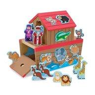 Melissa & Doug - Set de joaca din lemn Arca lui Noe