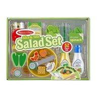 Melissa & Doug Set De Joaca Din Lemn Salate Delicioase