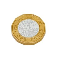 Accesoriu Set de monede de jucarie , 50 buc, 1 lira sterlina