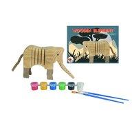 Egmont toys - Set Elefant din Lemn