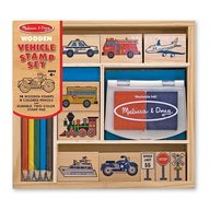 Set de stampile Vehicule Melissa and Doug