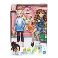 Hasbro - Set papusi Printesele Anna si Elsa , Disney Frozen