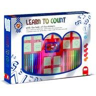 Multiprint - Set educativ cu stampile Numere 46 piese, 26 stampile, tus, 18 carioci si caiet cu activitati  MP1940