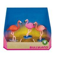Bullyland - Set 3 figurine Flamingo