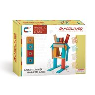 MAGPLAYER - Set magnetic din lemn 24 piese