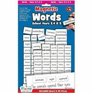 Fiesta Crafts - Set magnetic - Primele cuvinte in limba Engleza, clasa 3, 4 si 5
