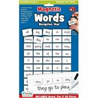 Fiesta Crafts - Set magnetic - Primele cuvinte in limba Engleza, prescolari