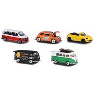 Majorette - Set 5 masinute Volkswagen