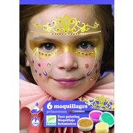 Djeco - Set make-up, culori non alergice, printese