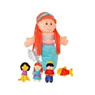 Fiesta - Set Marioneta Micuta Sirena pentru teatru papusi  hand-puppet  3 ani+