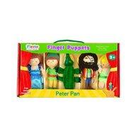 Fiesta - Set marionete deget Peter Pan pentru teatru papusi  finger-puppet  3 ani+