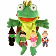 Fiesta Crafts - Set Marionete Printul Broscoi