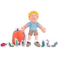 Fiesta Crafts - Set marionete James si piersica uriasa , Roald Dahl