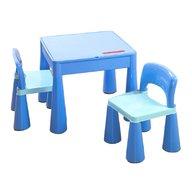 Tega - Set masuta cu 2 scaune Mamut Albastru