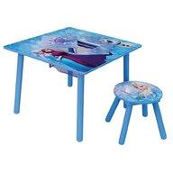 Fun House - Set masuta multifunctionala si 1 taburet Elsa si Anna