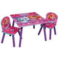 Global - Set masuta si 2 scaunele Pink Paw Patrol