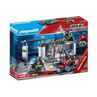 Playmobil - Set mobil Sectia echipei SWAT