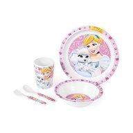 Set pentru masa melamina 5 piese Princess Pets Lulabi 9248500