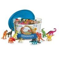 Learning Resources - Set pentru sortat - Dinozauri jucausi (60 piese)