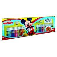 Multiprint - Set pictura 96 piese, 4 stampile, tus, 60 carioci, 30 stickere si caiet cu activitati Mickey  MP18945