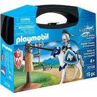 Playmobil - Set portabil Cavaler si cal