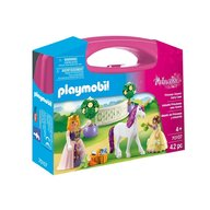 Playmobil - Set portabil - Printese si unicorn