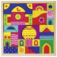 Goki - Puzzle din lemn Mosaic Piese asimetrice Puzzle Copii, piese42