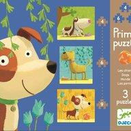 Djeco - Set puzzle-uri Catei veseli