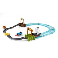 Mattel - Set sine si locomotiva Thomas Friends, Boat and Sea