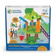 Learning Resources - Set Stem casuta din copac