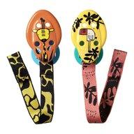 Tommee Tippee - Set suport pentru suzeta, 2 buc, Girafa/Pasa