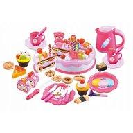 Ecotoys - Set tort aniversar cu accesorii
