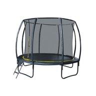 Heutink - Set trambulina Ookee Jump Carbon cu plasa si scarita, 366 cm