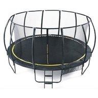 Heutink - Set trambulina Ookee Jump Carbon cu plasa si scarita, 427 cm