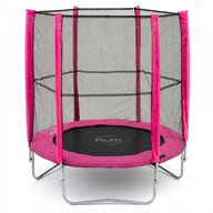 Plum - Set trambulina cu plasa de protectie Junior Pink 140 cm PLUM