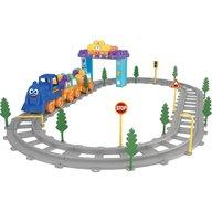 Ucar Toys - Set Tren 62 piese Magic Blocks