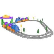 Ucar Toys - Set Tren 93 piese Magic Blocks