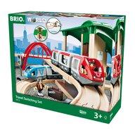 BRIO - Set Trenuri , De calatorie